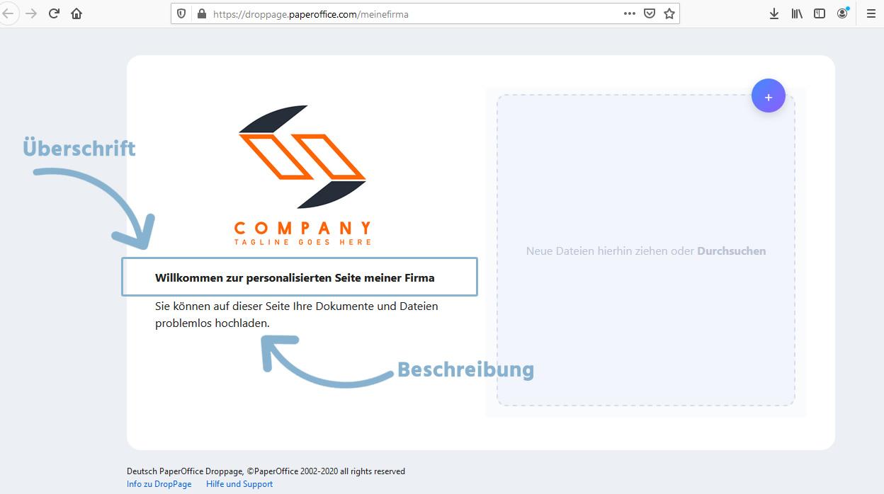 DropPage Verfügbarkeit erfolgreich