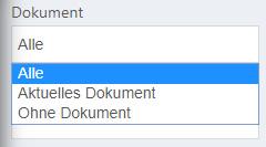 Notiz Filter Dokument