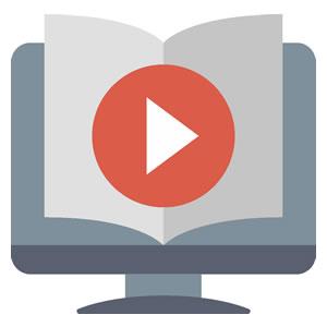 <em>Videos und Training</em><br><b>Bedienung</b>